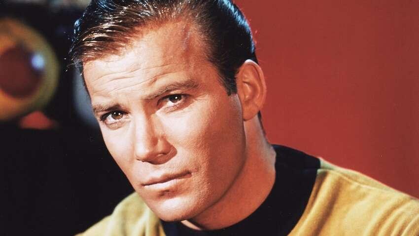 William Shatner as Captain James T. Kirk in