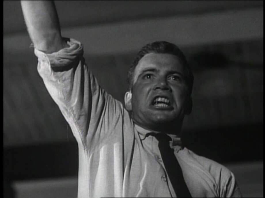 "Shatner in ""The Intruder."""