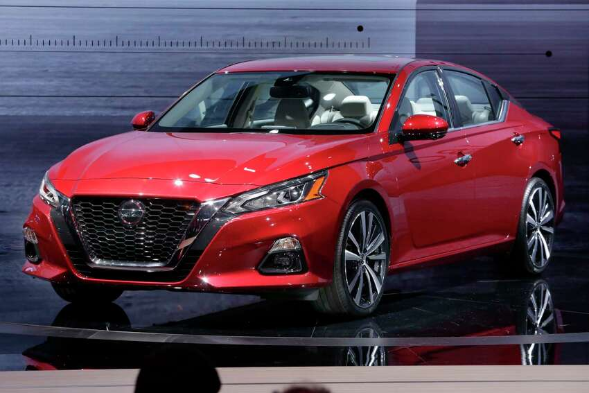 The 2019 Nissan Altima is introduced during New York International Auto Show, at the Javits Convention Center, Wednesday, March 28, 2018.