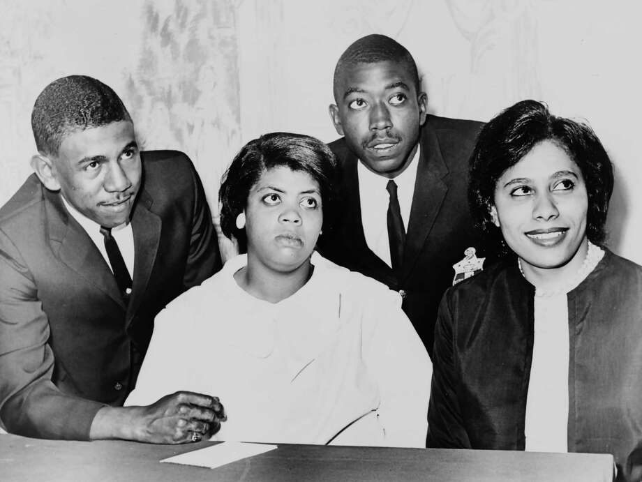 (FILES): This 1964 handout photograph obtained courtesy of the Library of Congress shows Linda Brown (C), who was at the center of the 1950s court battle that led to the desegregation of US schools, has died. Photo: LIBRARY OF CONGRESS, AFP/Getty Images / AFP or licensors