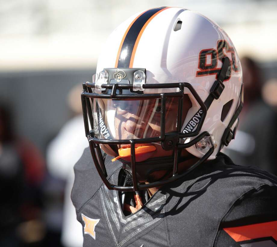 STILLWATER, OK - OCTOBER 04:   Cornerback Chris Hardeman #3 of the Oklahoma State Cowboys waits before the game against the Iowa State Cyclones October 4, 2014 at Boone Pickens Stadium in Stillwater, Oklahoma. The Cowboys defeated the Cyclones 37-20. (Photo by Brett Deering/Getty Images) Photo: Brett Deering/Getty Images