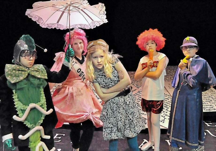 "Oddfellows Playhouse actors perform during dress rehearsals for ""Alice Threw the Looking Glass"" in this archive photograph. Photo: File Photo / TheMiddletownPress"