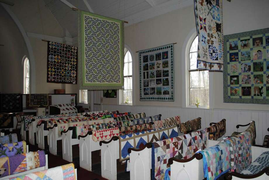 The Haddam Neck Congregational Church will host the 29th Annual Quilt Show on April 7-8 at the landmark meetinghouse in the village of Haddam Neck. More than 130 new and historic quilts will be on display and a tea room will offer refreshments and baked goods. In addition, the Ladies Aid Society will be selling crafts and a local quilt shop will offer fabric and other quilting supplies. Other highlights include voting for a favorite quilt and a drawing for prize baskets. For more information, call 860-267-2713 or visit www.haddamneckcongregationalchurch.org Photo: Contributed Photo / Haddam Neck Congregational Church