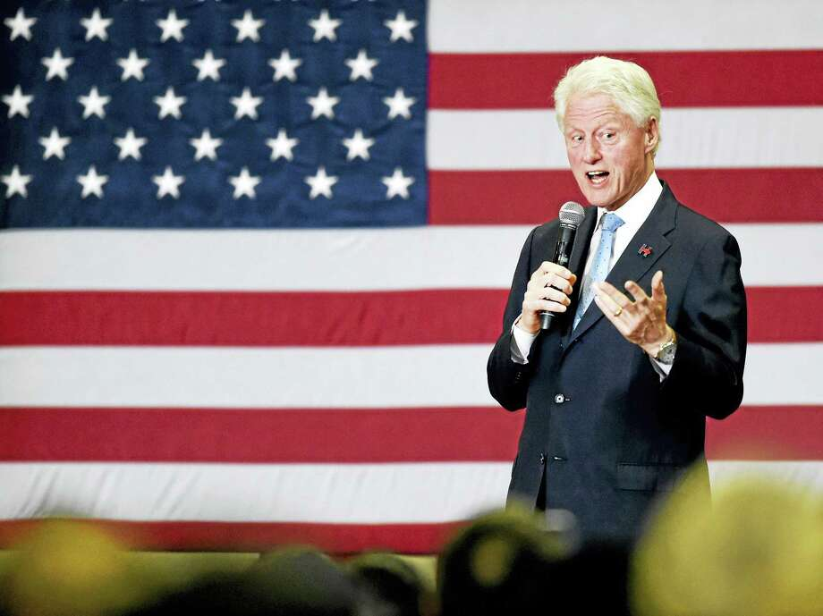 Bill Clinton will talk about his new book, a thriller written with James Patterson, at the Tobin Center for the Performing Arts. Photo: ©2016 Peter Hvizdak / ©2016 Peter Hvizdak