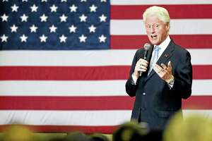Bill Clinton will talk about his new book, a thriller written with James Patterson, at the Tobin Center for the Performing Arts.