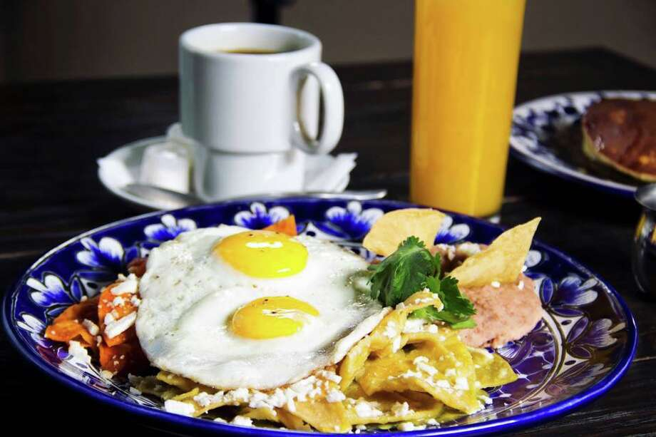 Start your day in Laredo with chilaquiles, breakfast tacos or Belgian waffles at La Finca Bruncheria (1713 E Del Mar Blvd.) Locals flock to this spot for their fresh and traditional Mexican cuisine. Photo: Courtesy La Finca