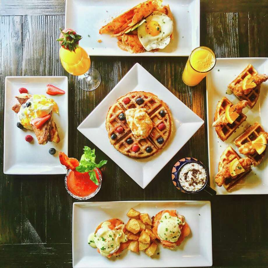 La Finca Bruncheria & Cafe 1713 E Del Mar Blvd. Ste. 6C, 956-568-0162, lafincabruncheria.com Brunch hours: 8 a.m.-3 p.m. Saturday-Sunday Naming yourself a bruncheria, you've got to have confidence in your brunch offerings, and La Finca definitely doesn't disappoint. Their chilaquiles are a local favorite, but their inventive offerings include chicken & waffle sliders, salmon avocado toast and a triple crown omelet that includes smoked salmon and caviar. Photo: Courtesy La Finca