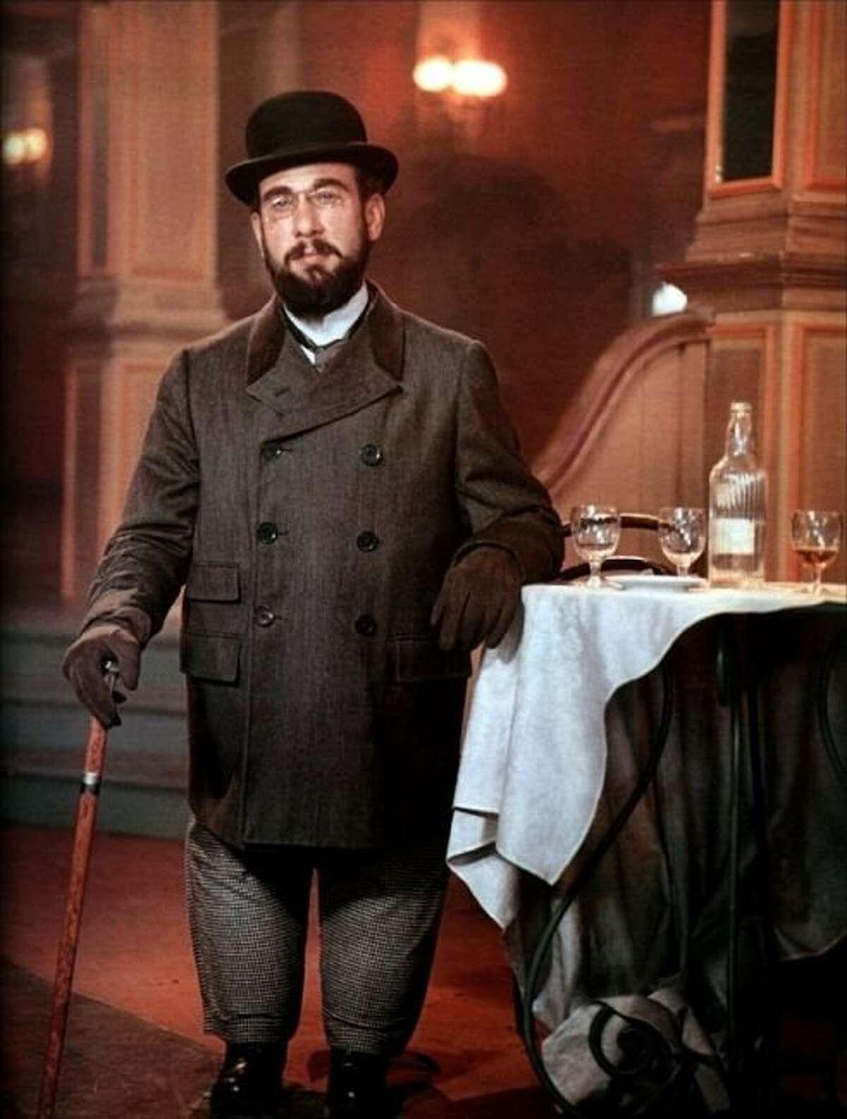 Jose Ferrer as Henri de Toulouse-Lautrec in