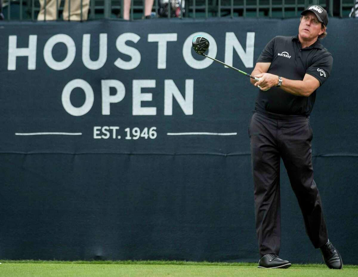 Phil Mickelson Age: 47 World Golf Ranking:18 A fan favorite, Lefty is on a roll with a recent stretch of four straight top-6 finishes, including a March 4 victory in the World Golf Championships. Mickelson, who won here in 2011 and has won 43 times on the PGA Tour, will be playing in his 11th consecutive Houston Open. He has six top-20 finishes in his last seven appearances at the HO. Mickelson is third in FedEx Cup points.
