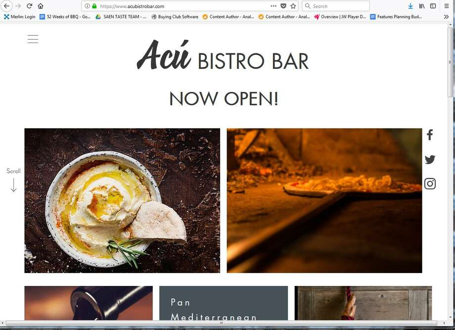 Acú Bistro Bar Had Its Grand Opening Last Sunday At 21715 Interstate 10 West Directly