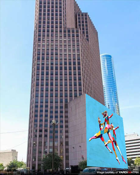 Shown here is a rendering for the Sky Dance Mural commissioned to visual artist C. Finley, based in New York and Rome. Photo: Courtesy Photo By C. Finley