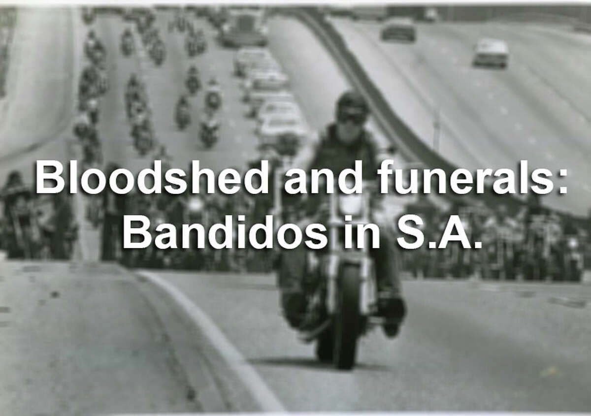 The gallery ahead features photographs from the Express-News coverage of the Bandidos, including the 1979 courthouse appearance of several members of the motorcycle gang who came to testify for an FBI investigation of the assassination of a district judge.