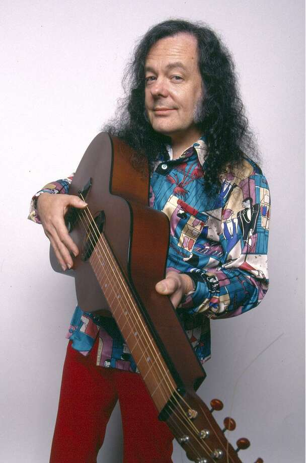 Eclectic multi-instrumentalist David Lindley will perform on April 8 at 3:30 p.m. in the Cole Auditorium at Greenwich Library. His electro-acoustic performances combine American folk, blues, and bluegrass traditions with elements from African, Arabic, Asian, Celtic, Malagasy, and Turkish musical sources. The concert is free. Photo: Contributed /