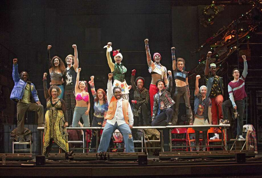 "The 20th anniversary tour of ""Rent"" will make a stop at the Palace Theater in Waterbury the weekend of April 13-15. Photo: Photo By Carol Rosegg, 2017"