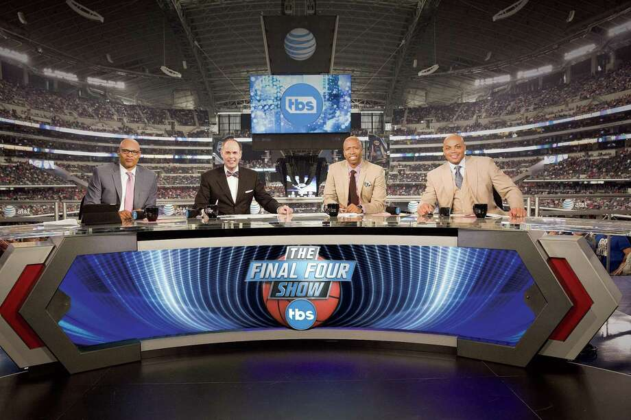 Ernie Johnson will host and Clark Kellogg, Kenny Smith and Charles Barkley will add color and analysis of Final Four color and excitement as part of TBS' extensive coverage of Final Four in  San Antonio. Photo: Turner Sports