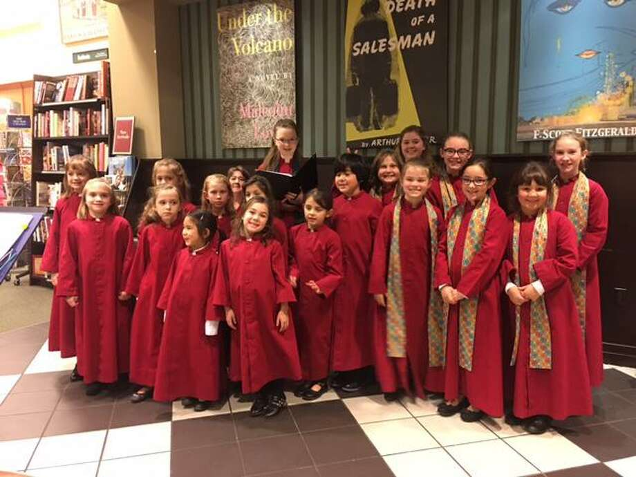 The members of Chorus Angelicus, a children's choir, and Gaudeamus, an adult choral group, will perform selections from Brahms on Saturday and Sunday in Hartford and Washington. Photo: Contributed Photo / Joyful Noise