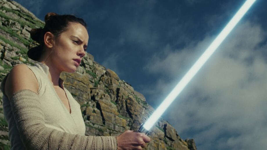 "Daisy Ridley stars as Rey in ""Star Wars: The Last Jedi."" MUST CREDIT: Disney, Lucasfilm Photo: Disney-Lucasfilm / Disney-Lucasfilm"