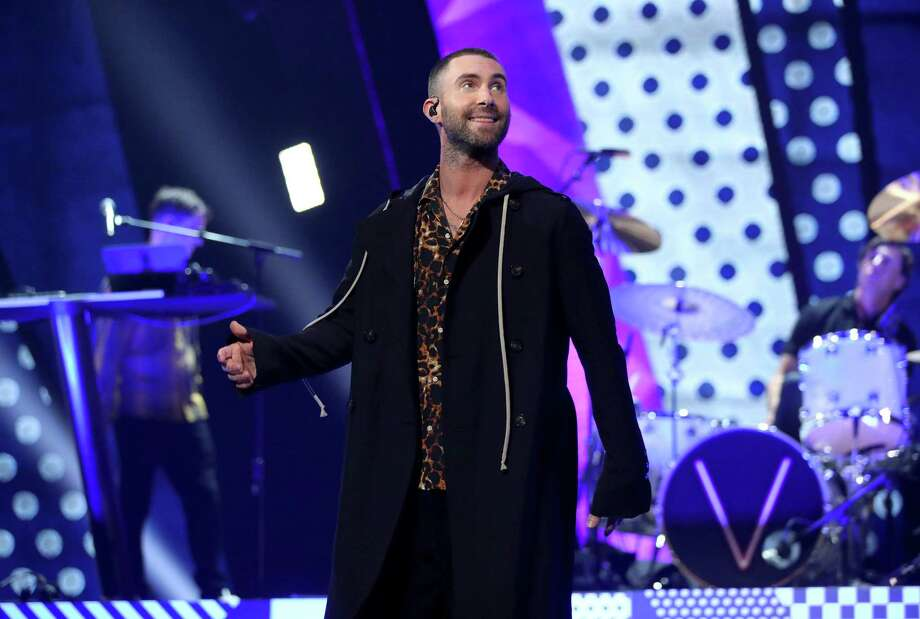 Adam Levine and Maroon 5 will headline the final day of the March Madness Music Festival on Sunday. Photo: Christopher Polk /Getty Images For IHeartMedia / 2018 Getty Images