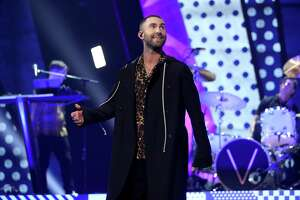 Adam Levine and Maroon 5 will headline the final day of the March Madness Music Festival on Sunday.
