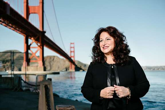 Mayoral candidate Angela Alioto poses for a portrait at Fort Point in San Francisco, CA, on Tuesday February 13, 2018.