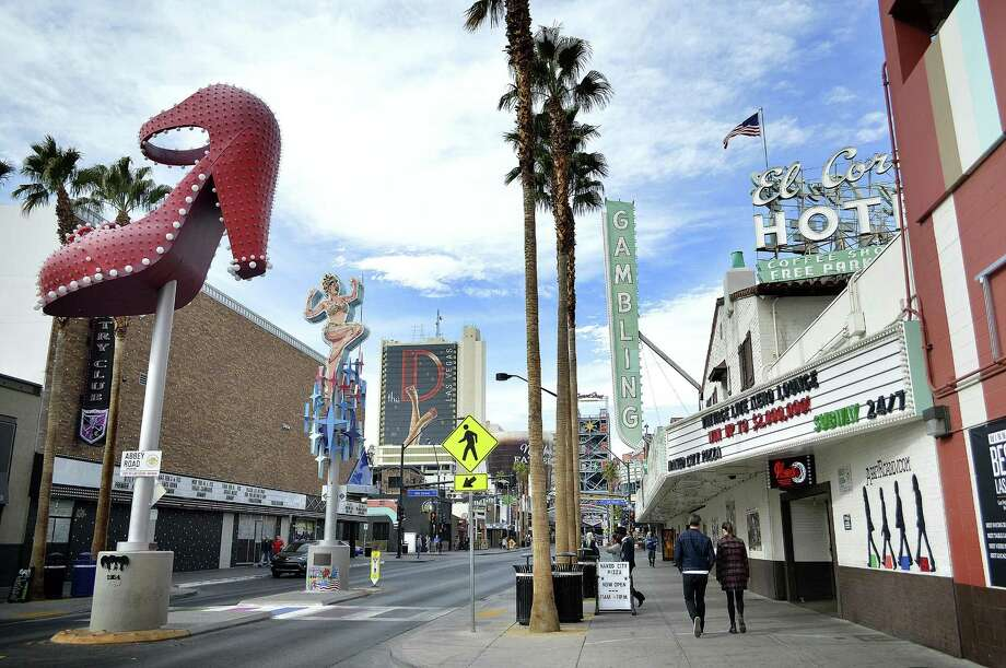 """Old"" Vegas boasts some new draw -- and lower prices from the Strip. Photo: Amelia Rayno /TNS / Minneapolis Star Tribune"