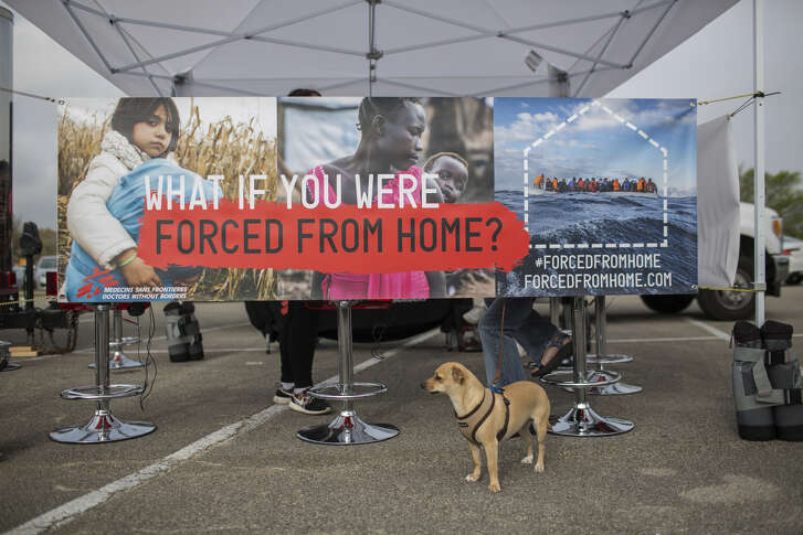 Doctors Without Borders' exhibit about the global refugee crisis arrives in Houston March 29.  Doctors Without Borders' exhibit about the global refugee crisis arrives in Houston March 29.