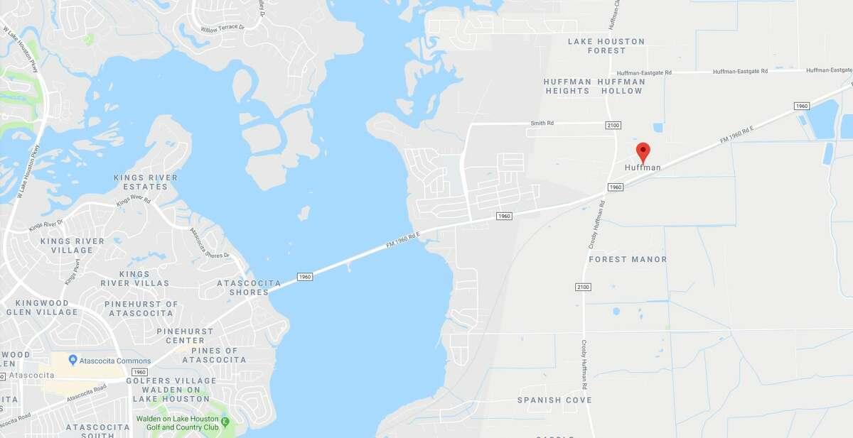 A severed human female head was found Saturday morning near Lake Houston.