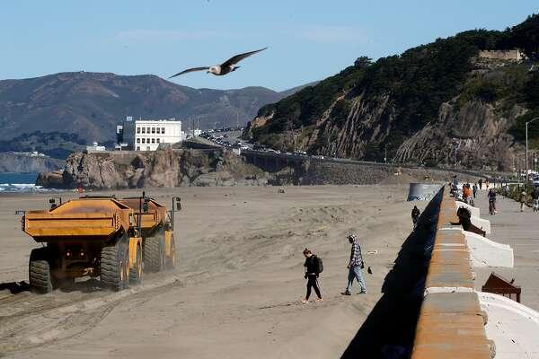 Ocean Beach Sand Transfers Will Disrupt