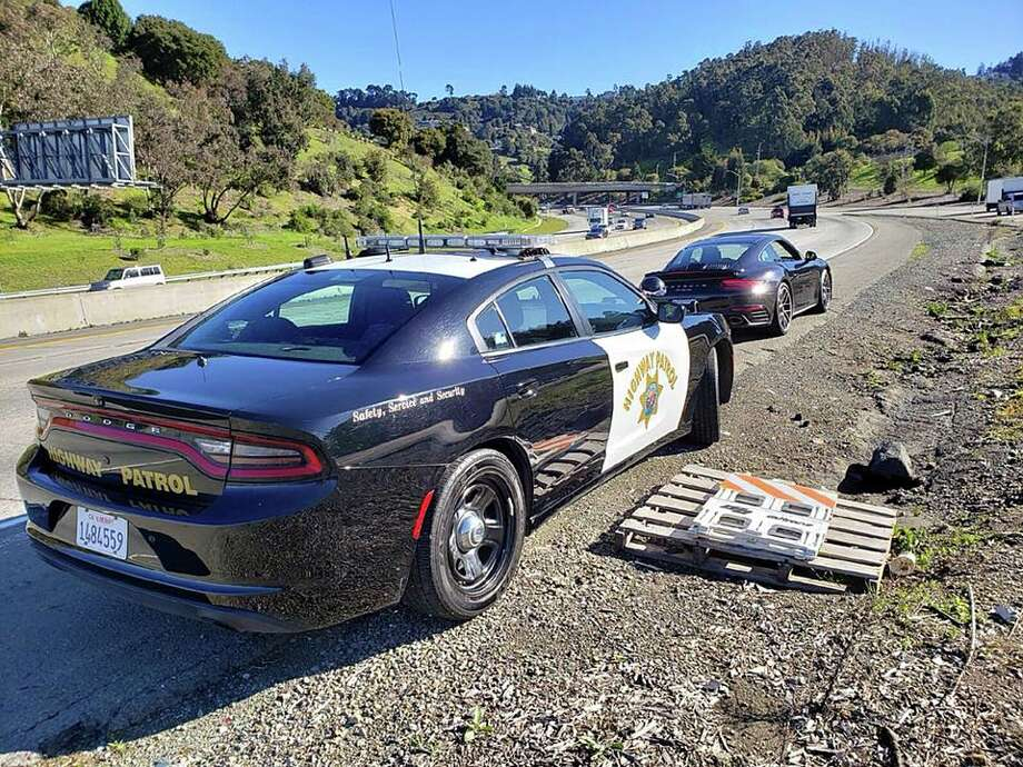 Two drivers were clocked going 110 or over this week on Highway 24 in Alameda County. Photo: Photo By The Oakland CHP