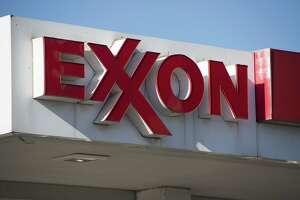 An Exxon gas station in Falls Church, Va.