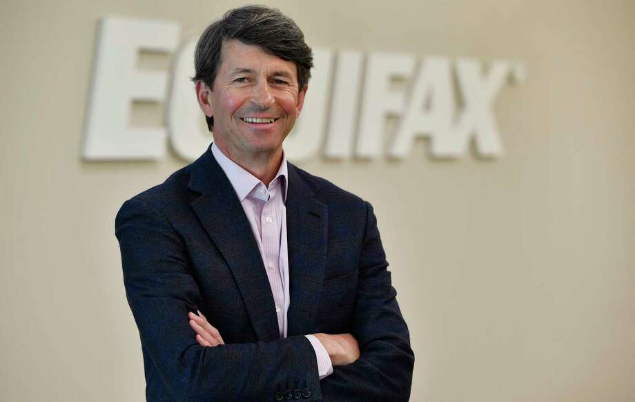 New Equifax CEO Mark Begor poses for a photo Wednesday, March 28, 2018, in Atlanta. Equifax tapped longtime financial industry executive Begor as its new permanent CEO, the company said Wednesday, as Equifax continues to try to recover from fallout surrounding the company's massive data breach. (AP Photo/Mike Stewart) Photo: Mike Stewart / AP
