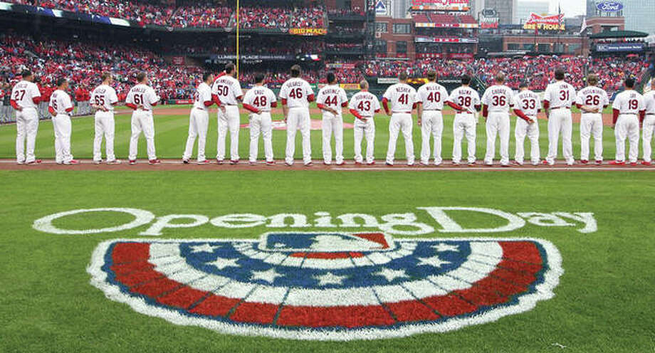 The Cardinals open on the road at 12:10 p.m. CT Thursday against the against the New York Mets. Their first home game is April 5 against the Arizona Diamondbacks Photo: AP File Photo