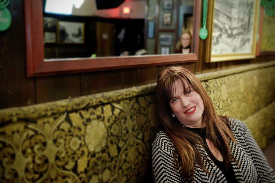 Tess Collins at McGeary's Pub on Thursday, March 8, 2018, in Albany, N.Y.  (Paul Buckowski/Times Union) Photo: PAUL BUCKOWSKI / (Paul Buckowski/Times Union)