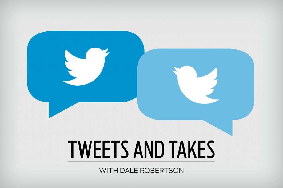 For Dale Robertson, 280 characters often aren't enough for his takes. Photo: Katie McInerney / Houston Chronicle