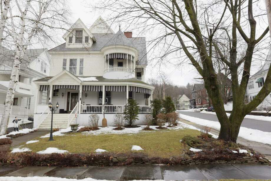 A view of the home located at 245 Guy Park on Tuesday, Feb. 20, 2018, in Amsterdam, N.Y.  (Paul Buckowski/Times Union) Photo: PAUL BUCKOWSKI / (Paul Buckowski/Times Union)