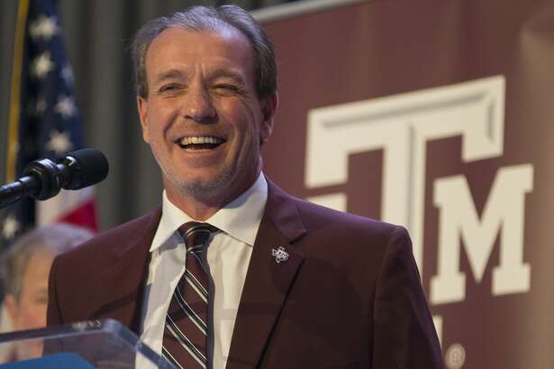New Texas A&M University head football coach Jimbo Fisher talks during a press conference at the school's Hall of Champions at Kyle Field, Monday, Dec. 4, 2017, in College Station. ( Mark Mulligan / Houston Chronicle )