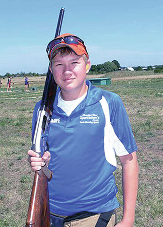The sixth annual Jordan Klope Memorial Sporting Clays and Trap Shoot is set for April 7 to support the Youth Shooting Sports program of the Alton-Wood River Sportsmen's Club in Godfrey. The shoot is memory of Jordan Klope, above, who was a member of the team, and lost his life in a traffic accident in December, 2012. Klope was 15 at the time of his death.
