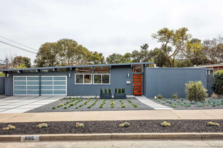 625 Idylberry Road in San Rafael is a four-bedroom Eichler built in 1957. Photo: Rob Jordan Photography