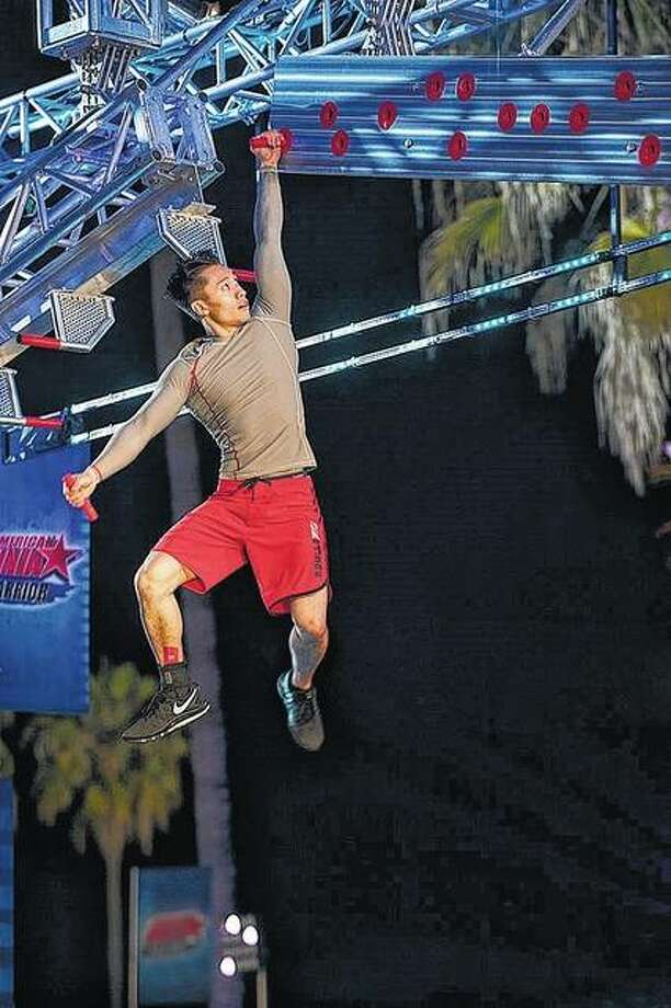 Hoan Do competes on NBC's American Ninja Warrior. Photo: Photo By Brandon Hickman | Esquire Network (NBCU)
