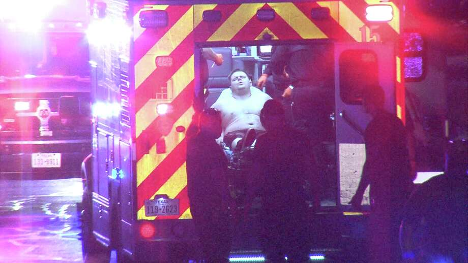 A man was shot in the leg after being lured into a San Antonio home for a robbery on Thursday, March 29, 2018, police said. Photo: Pro 21 Video