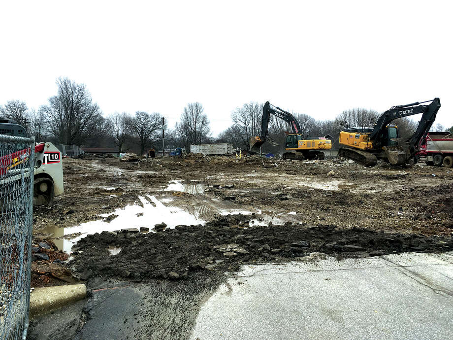 Those who travel Troy Road on a daily basis have been able to follow the demolition of the McDonald's restaurant, which no longer exists. Plans are for the eatery to be rebuilt. Photo: Bill Craft • For The Intelligencer