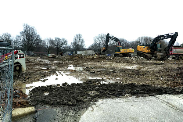 Those who travel Troy Road on a daily basis have been able to follow the demolition of the McDonald's restaurant, which no longer exists. Plans are for the eatery to be rebuilt.
