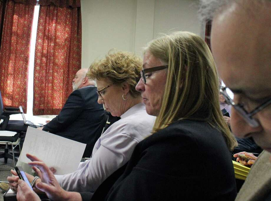 Deaprtment heads were on hand Monday for the Board of Selectmen's budget vote, but the spending plan passed with no cuts. It now goes to the Board of Finance. Fairfield,CT. 3/26/18 Photo: Genevieve Reilly / Hearst Connecticut Media / Fairfield Citizen