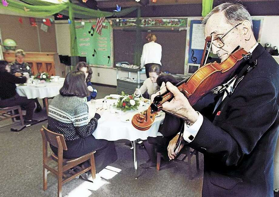 The late Santo Fragilio was band director at Middletown High School and a musical institution in the city. Photo: File Photo