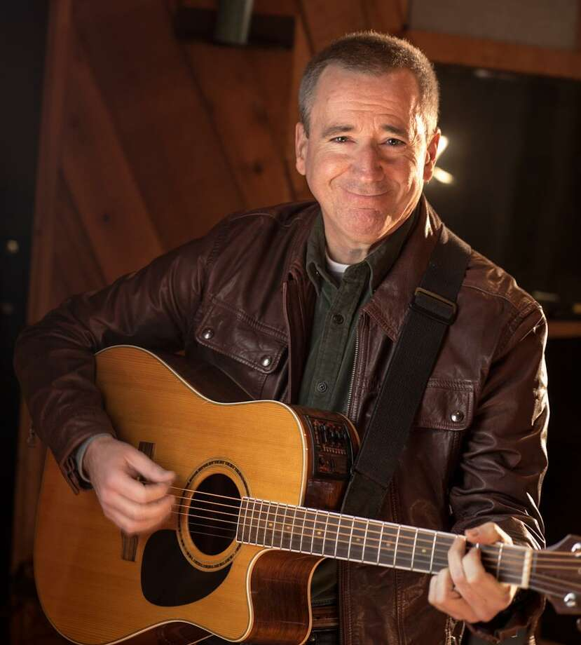Norwalk singer-songwriter Will Baird shares original songs at Peaches Southern Pub & Juke Joint as part of First Friday celebration on April 6. Photo: Contributed Photo / Darryl Estrine