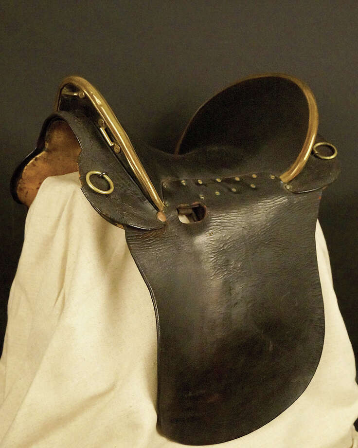 A saddle that belonged to former Union General and U.S. President Ulysses S. Grant. Photo: For The Edge