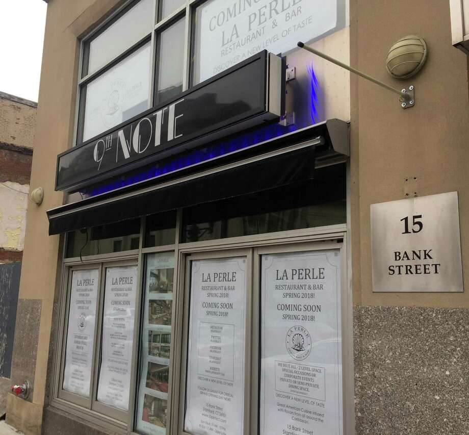 La Perle Restaurant & Bar is scheduled to open in the spring of 2018 at 15 Bank St., in downtown Stamford, Conn. The space was formerly occupied by 9th Note Jazz Supper Club, which closed in January 2017. Photo: Paul Schott