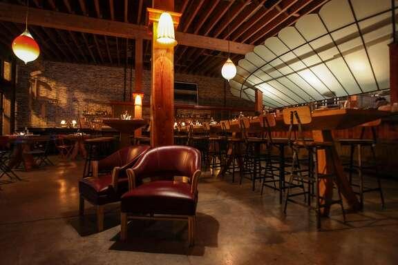 The interior of Penrose restaurant in Oakland on November 22nd 2013.