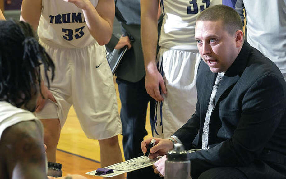 Truman State University Chris Foster will reportedly become the new men's basketball coach at McKendree University, taking over for Harry Statham, college basketball's all-time winningest coach at a four-year school. Photo: Tim Barcus, Truman State Photographer