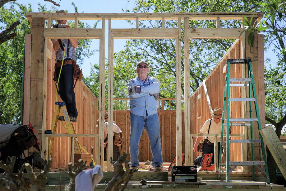Amazing Houston Hero Tommy Overstreet Helps Build A Home For A Victim Of Hurricane  Harvey Tuesday,